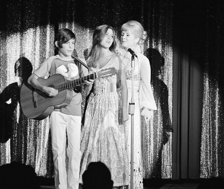 Debbie Reynolds, Carrie Fisher, and Todd Fisher