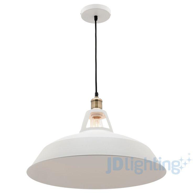 30 lights pinterest mercator daphne white metal pendant light mozeypictures Choice Image