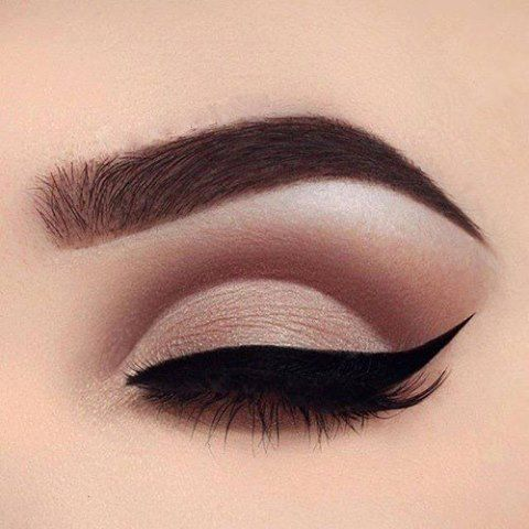 We usually go for a darker eye on the lid! Try the opposite and try a darker shade on the crease and a more natural shade on the lid. It has a very uplifting quality.
