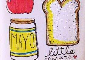 Steph Calvert/Little Tomato Sandwiches represented by Liz Sanders Agency