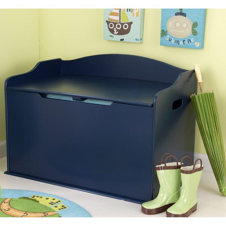 KidKraft Austin Toy Box in Blueberry