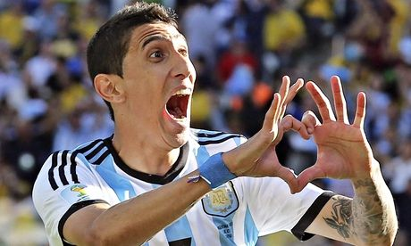 Argentina's Ángel di María breaks Switzerland's hearts at the ...