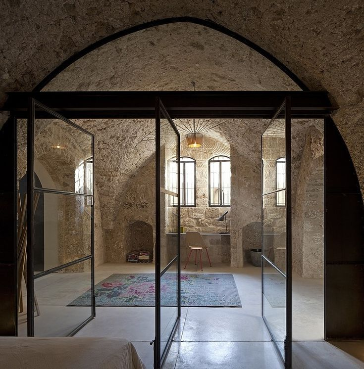 Old and new at Factory Jaffa House, Tel Aviv by Pitsou Kedem Architects