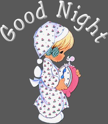 Goodnight my love :* have a good day at work 12:07