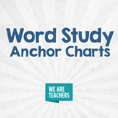75 best Word Study Anchor Charts images on Pinterest Learning - on word