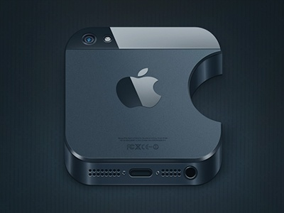 iPhone 5 icon by Alexandr Nohrin