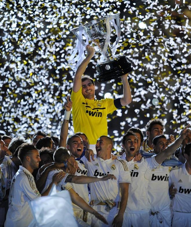 Real Madrid - Campeones de La Liga 2011-12