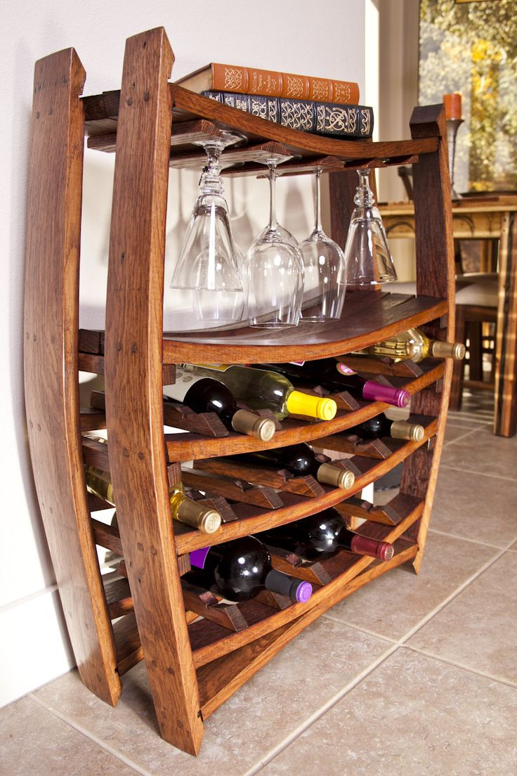 16 best wine barrel projects and creations images on for Reclaimed wood furniture bend oregon