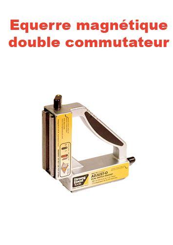 équerre magnétique double commutateur