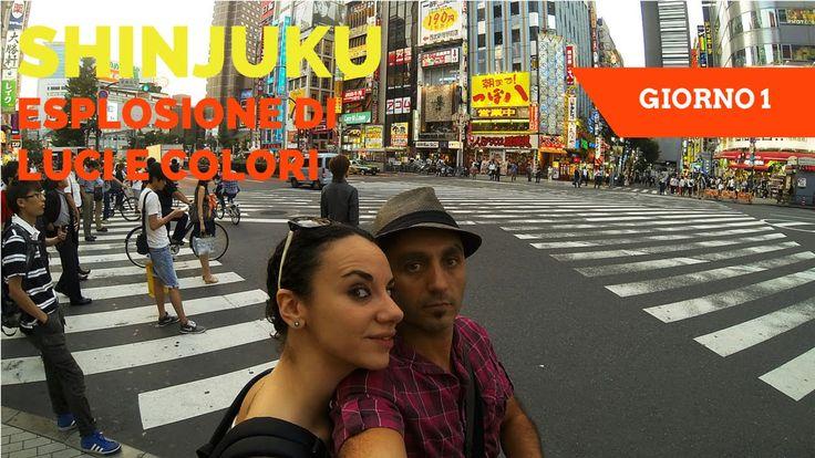 Usciti dalla stazione di #Shinjuku siamo stati colpiti di da un esplosione di luci, colori, suoni. Shinjuku è pura energia che ti invade. Questo è stato il primo impatto con #Tokyo ed il #Giappone. #Japan