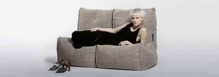 Double Bean Bag   2 Person Bean Bags   Twin Couch By Ambient Lounge