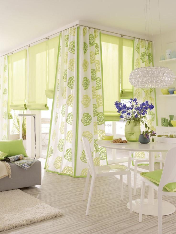 wohnzimmer vorhang stoff pinterest deko. Black Bedroom Furniture Sets. Home Design Ideas