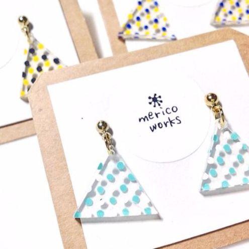 ハンドメイドで作る三角モチーフの小物・アクセサリーが可愛い♡! - curet [キュレット] まとめ