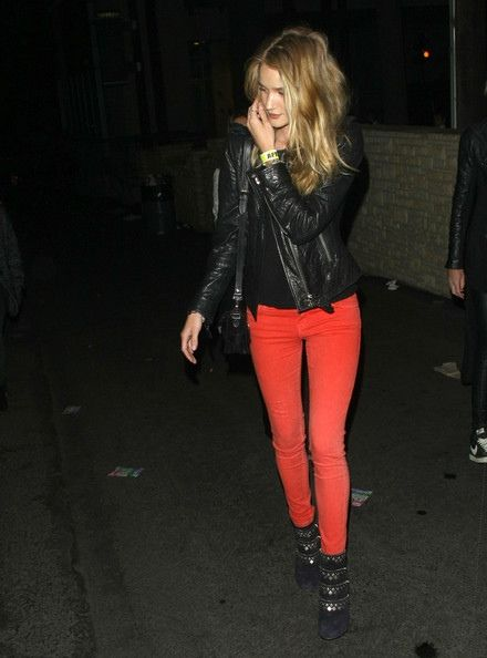 #RedDenim. #RoseHuntingtonWhitely