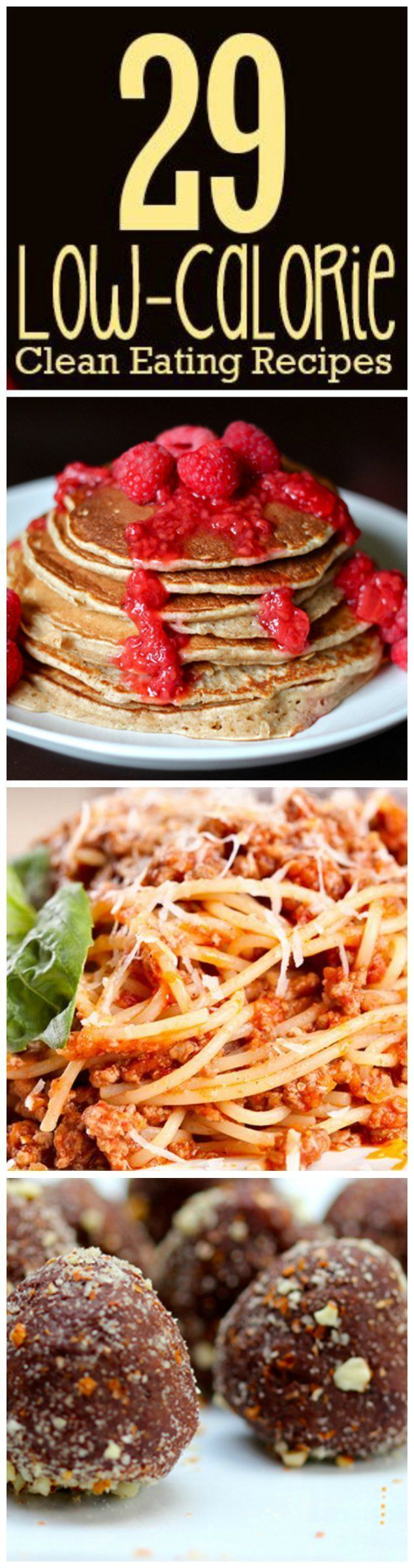 29 ways to eat clean without the empty calories! #lowcalorie #menuplanning #cleaneating