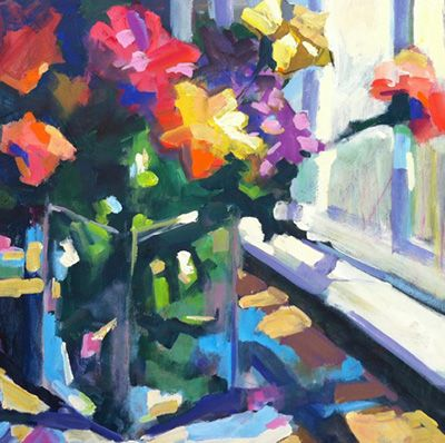 Oil Painting Artist Mary Rowley