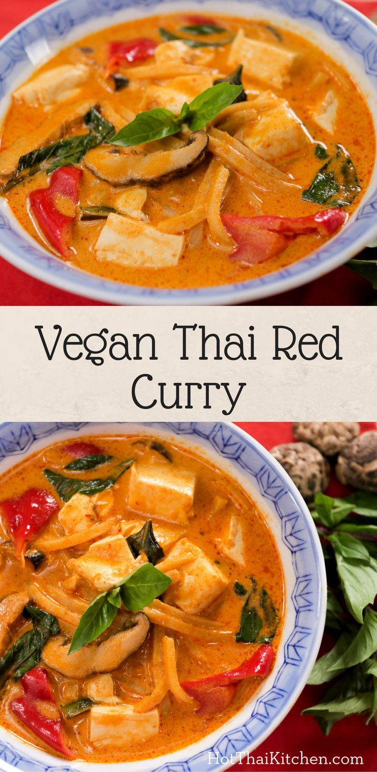 9 best asian vegetarian recipes images on pinterest thai recipes vegan thai red curry recipe hot thai kitchen dont just make a vegan curry make an awesome vegan curry in this video i share with forumfinder Choice Image