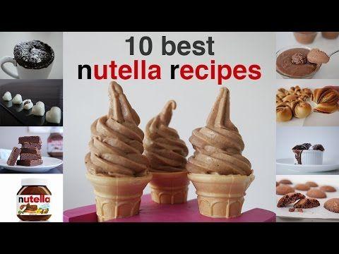 HowToCookThat : Cakes, Dessert & Chocolate | Top 10 Best Nutella Recipes - HowToCookThat : Cakes, Dessert & Chocolate