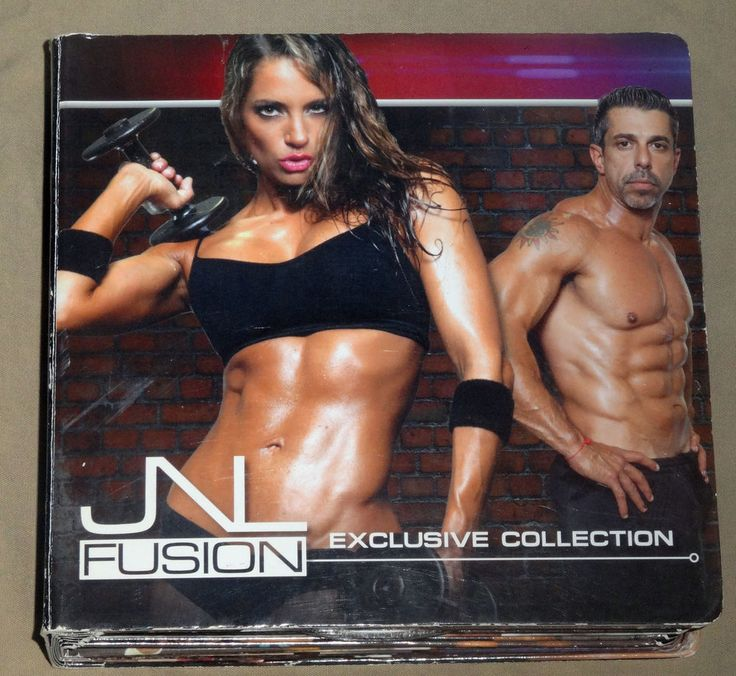 Jennifer Nicole Lee JNL Fusion 13 DVD Fitness Workout set missing 1 !! #Beachbody