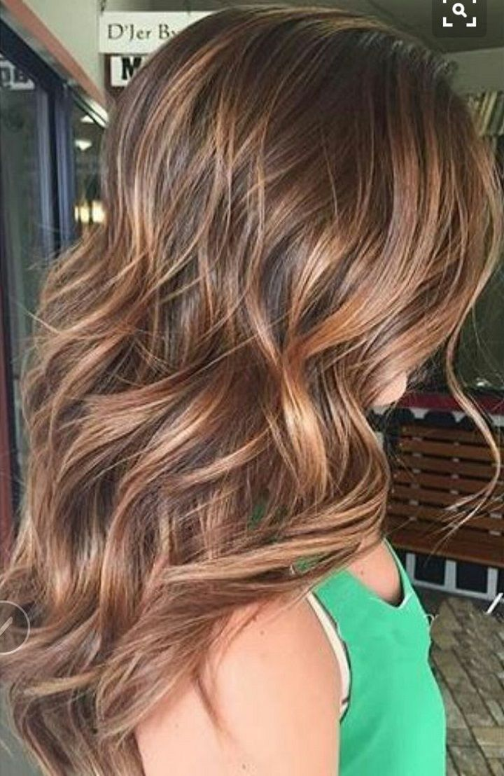 Brown Hair Color With Highlights , Balayage Hair Colors #haircolor #brownhair #highlighthair #balayage
