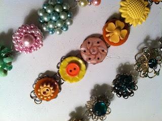 vintage earring bracelets