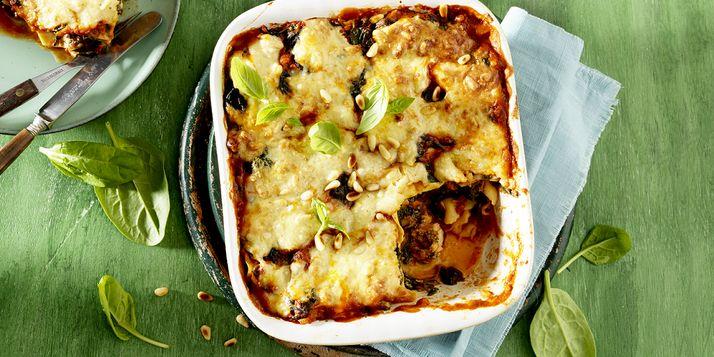 Snel & smakelijk: lasagne met zalm en spinazie