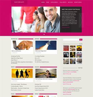 Informati News / Magazine theme for WordPress