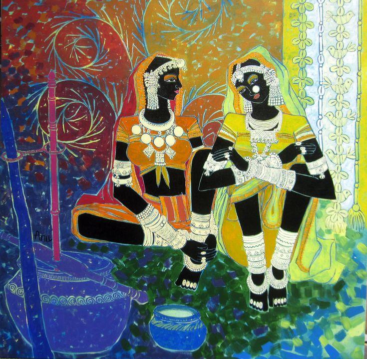 Serene harmony by Anuradha Thakur