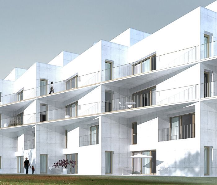 Architecture Urbanisme Of 43 Logements Collectifs M Rignac Nicolas Reymond