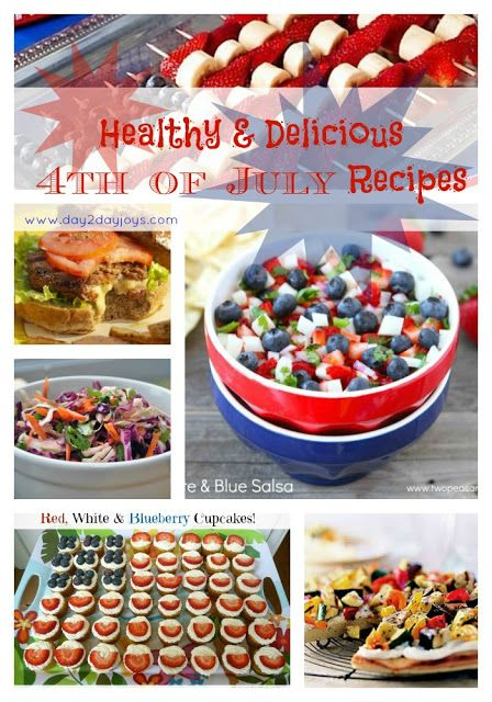 day2day joys: Healthy & Delicious 4th of July Recipes