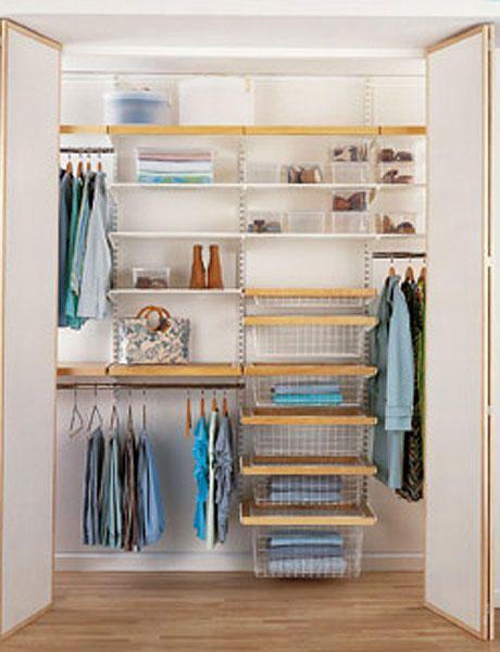 M s de 25 ideas incre bles sobre closet peque os en - Distribuir armario empotrado ...