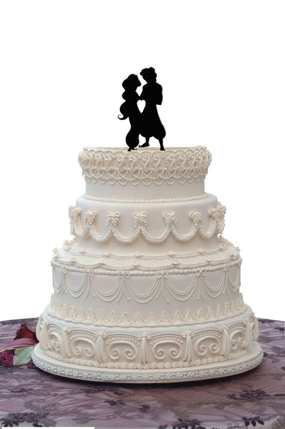 Aladdin Jasmine Wedding Cake Topper
