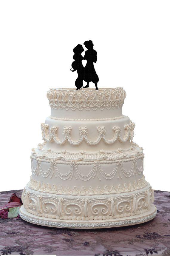 Aladdin Jasmine Wedding Cake Topper