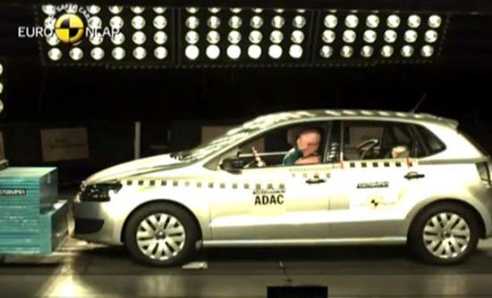 2009 Volkswagen Polo çarpışma testi