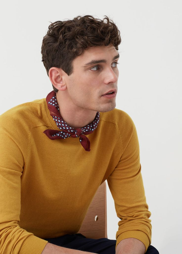 Pull coton cachemire | MANGO MAN