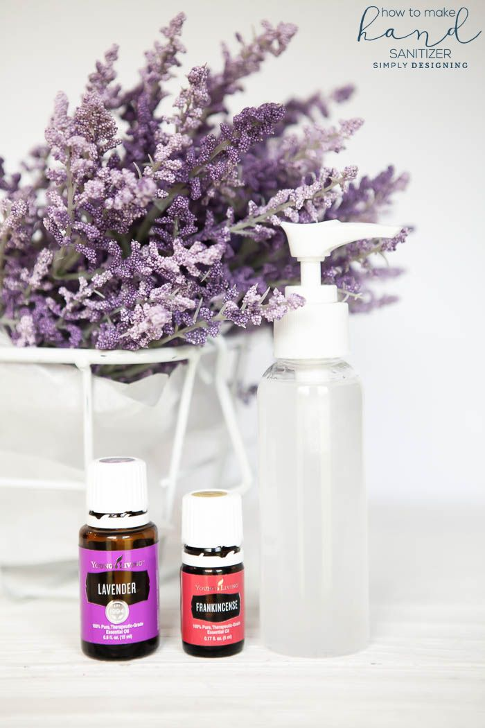 Lavender Lemon Hand Sanitizer Recipe Hand Sanitizer Essential