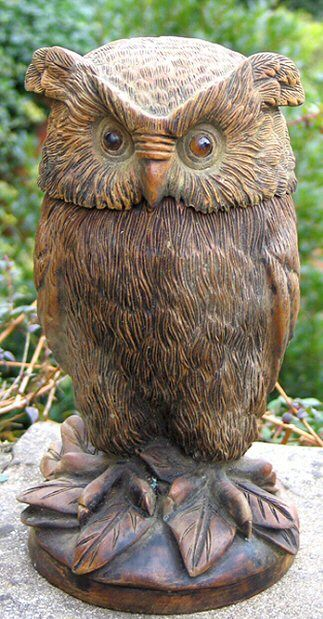 59 Best Images About Carved Owls On Pinterest