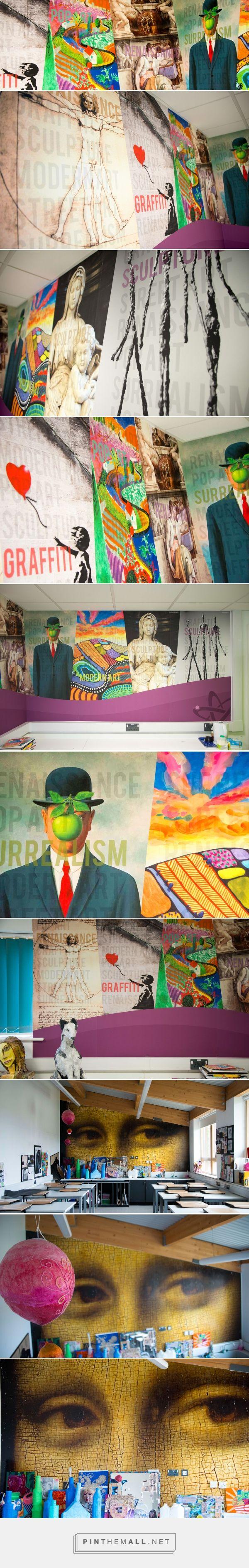 Sixth Form Studio - Art Classroom on Behance