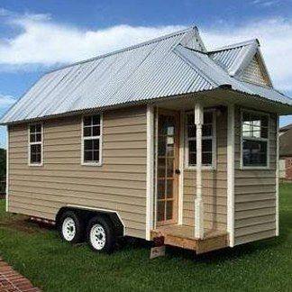 This Tiny Loft House Ready To Be Moved Wherever Your Heart Desires Louisiana Houses For Listings