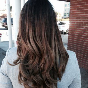 Asian Hair Balayage Straight asian highlights on pinterest asian balayage, asian hair