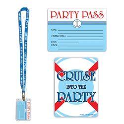 "Cruise Ship Theme ""Party Pass"""