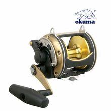 Fishing tackle okuma slr 50wii drum fishing font b reel b font deep sea