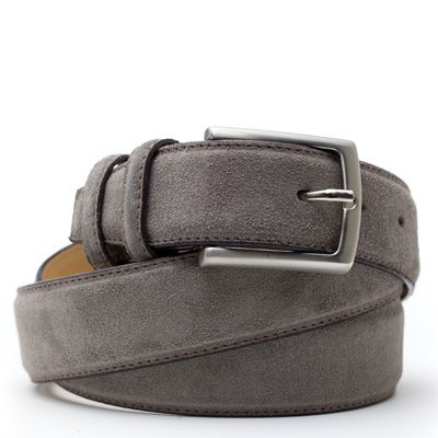 Suede riem: Mouse Grey by ColorMeSocks™