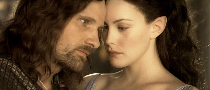 Viggo Mortensen and Liv Tyler in Lord of the Rings <3: Lotr, The Lord, Middleearth, Book, Aragorn And Arwen, Liv Tyler, Movie Quotes, Middle Earth, Lord Of The Rings