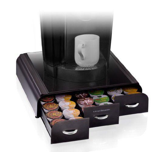 mind reader anchor coffee pod storage drawer for 36. Black Bedroom Furniture Sets. Home Design Ideas