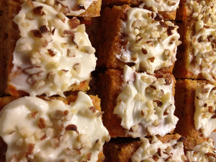 Carrot cake, my favourite!