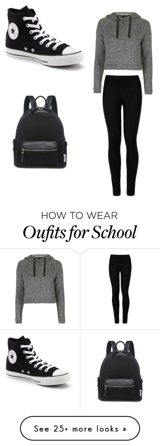 """""""Me school days"""" by kaomong-khaab on Polyvore featuring Wolford, Topshop and…"""