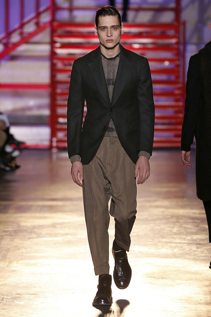 CERRUTI 1881 PARIS FW 14-15 Men's Fashion Show - Look 10