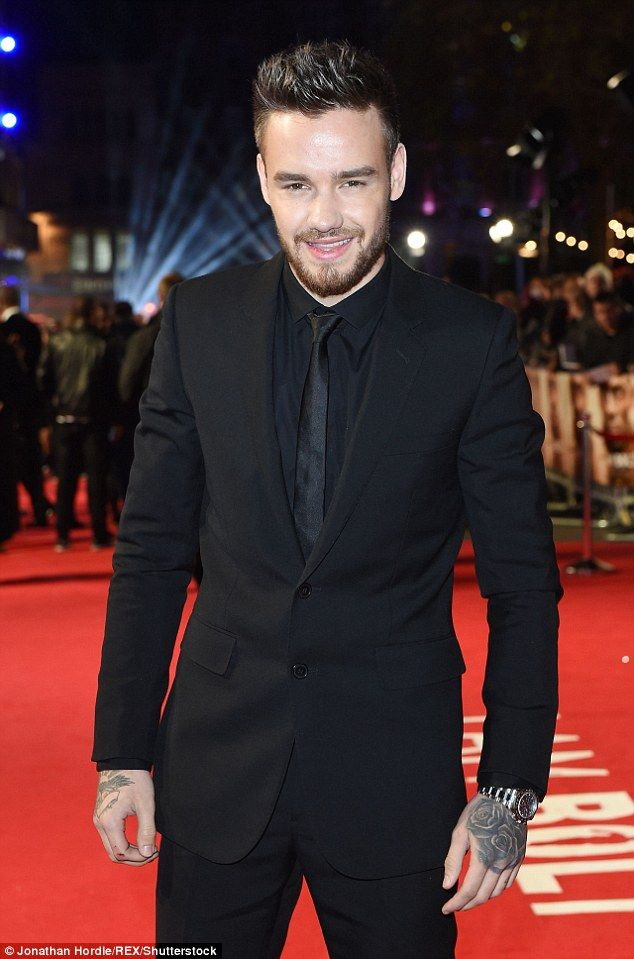 'Daddy-to-be': Liam Payne looked dapper as he suited up for the I Am Bolt premiere at Lond...
