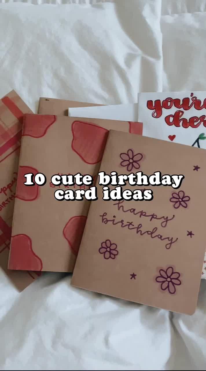 Pin By Joakim On Card Ideas Birthday Cards Diy Birthday Diy Gifts Bestfriend Birthday Gift Cards